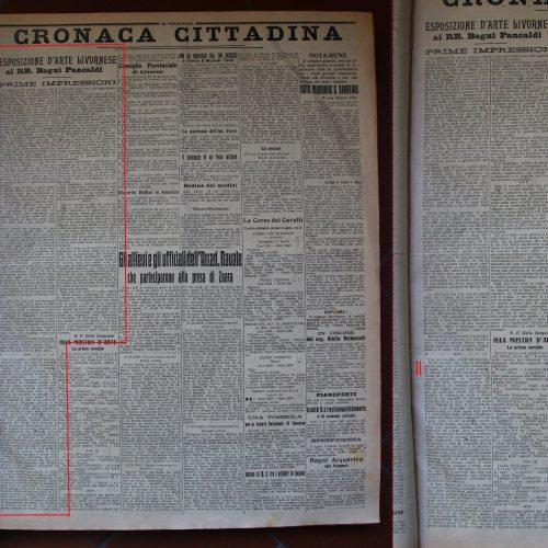 G. Pierotti Della Sanguigna, <em>Esposizione</em>...