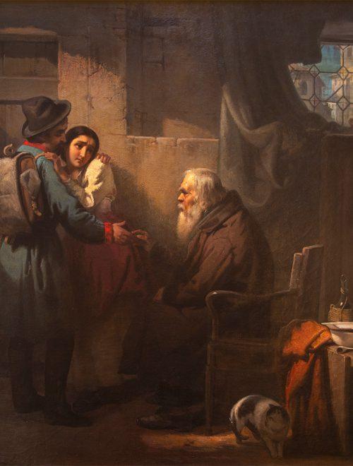 """""""L'addio del volontario"""" di Cabianca tra i dipinti che hanno ispirato Matteo Garrone per il suo """"Pinocchio"""""""