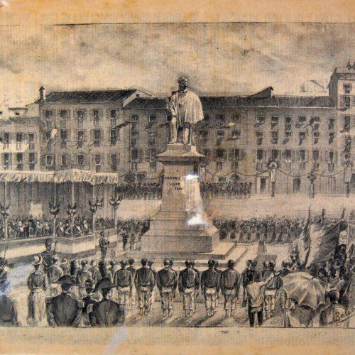 <em>Inaugurazione del Monumento</em>...