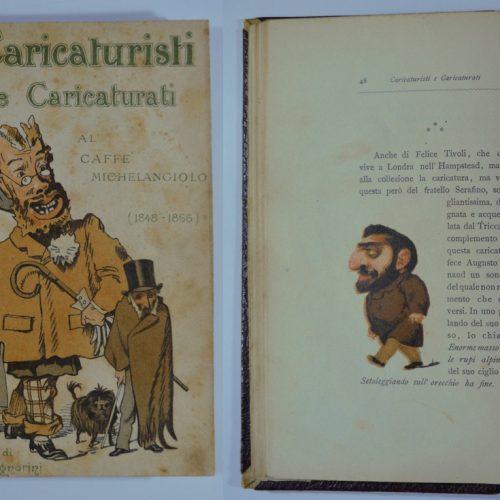 """Caricaturisti e caricaturati al Caffè """"Michelangiolo"""