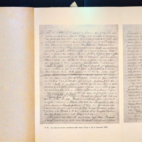 G. Fattori, <em>Appunti autobiografici</em>...
