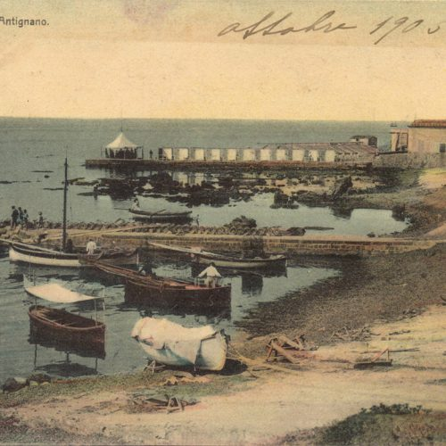 <em>Livorno Antignano</em>, cartolina...