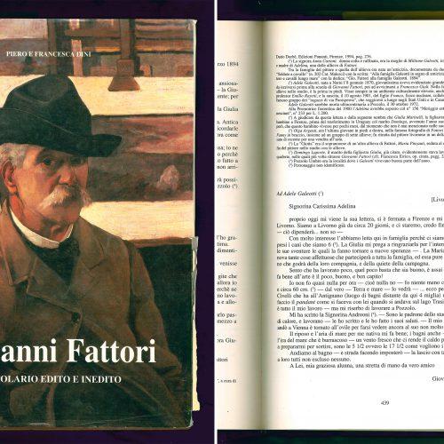 <em>Giovanni Fattori: epistolario</em>...