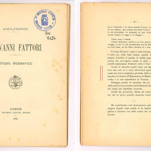 A. Franchi, <em>Giovanni Fattori</em>...