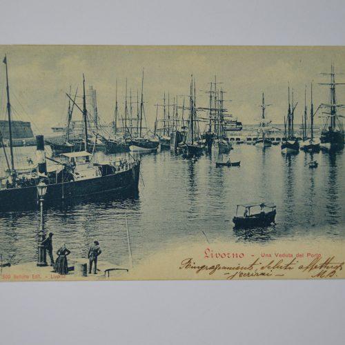 Livorno: Veduta del porto