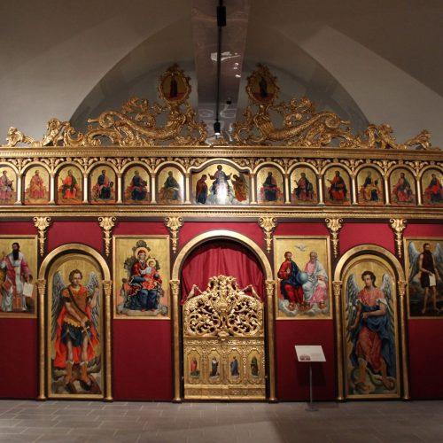 Iconostasi della chiesa della Santissima Trinità