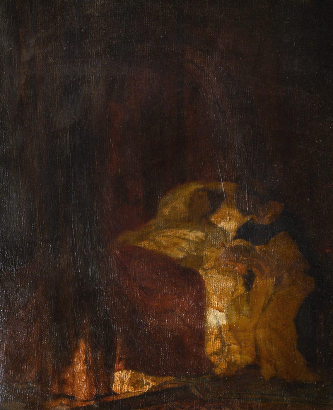Savonarola al letto di Lorenzo il Magnifico