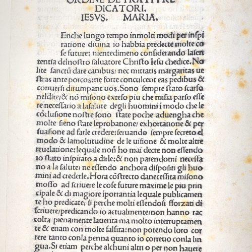 <em>Compendio di revelatione dello</em>...