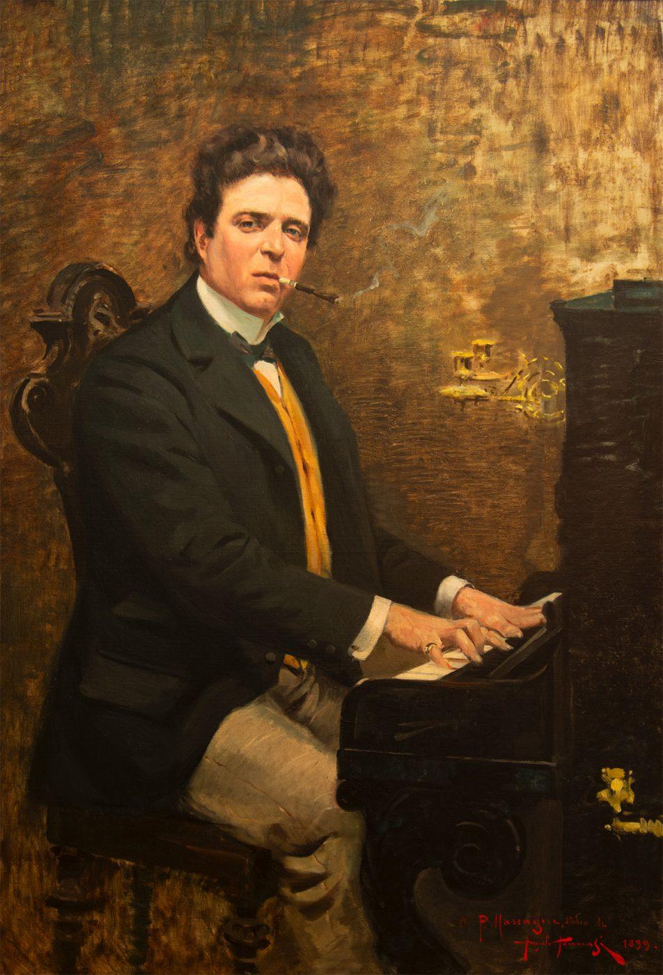 Ritratto di Pietro Mascagni