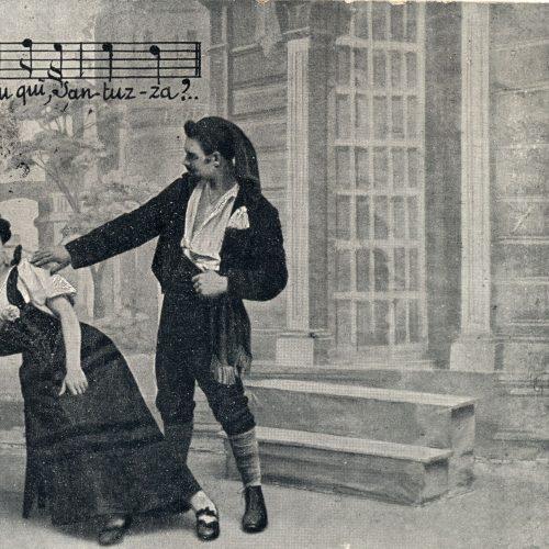 Scena della Cavalleria rusticana
