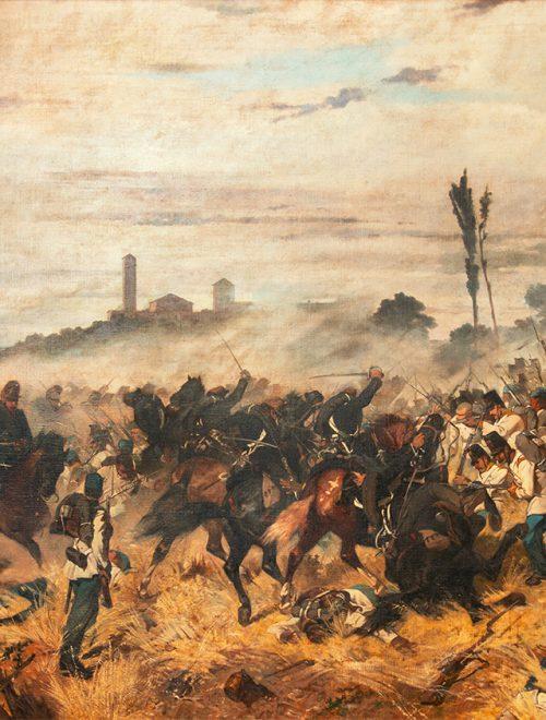 Un episodio della battaglia di Montebello 1859