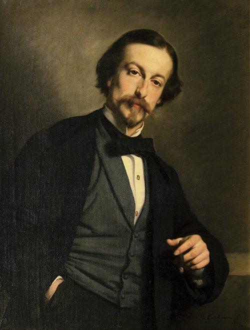 Ritratto di Cesare Bartolena