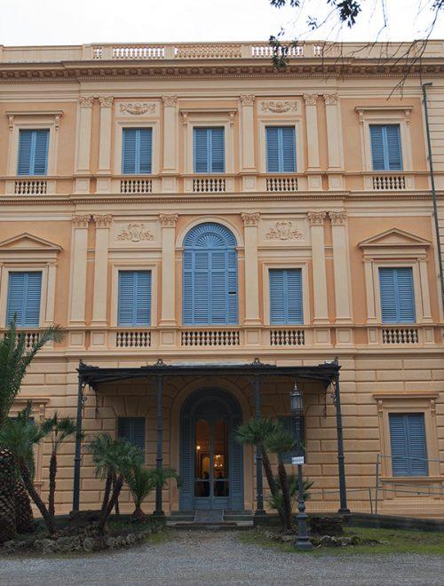 Villa Mimbelli torna a risplendere nelle sua imponenza storico architettonica