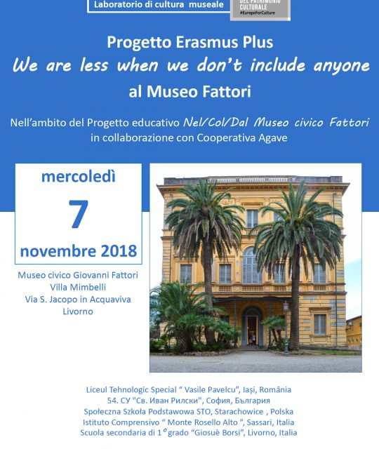 <p>Visita al Museo Giovanni Fattori in L.I.S – Lingua Italiana dei Segni</p>