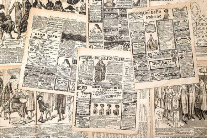 34571961-pagine-dei-giornali-con-la-pubblicità-d-epoca-donna