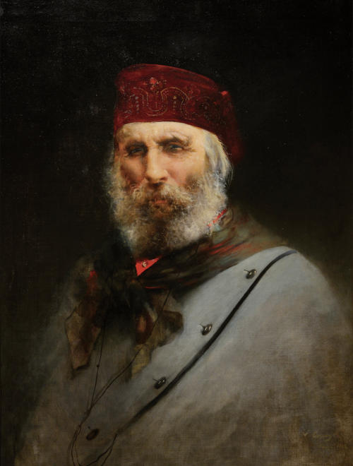 Il ritratto di Garibaldi di Corcos in una grande mostra sull'Ottocento a Forlì
