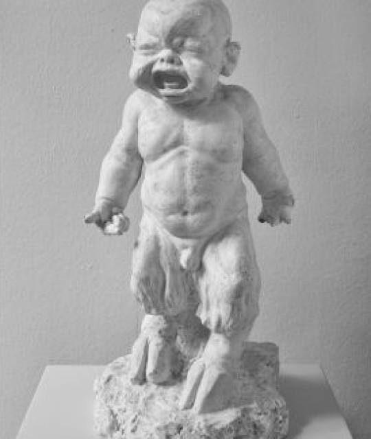 <p>Il satiretto bebè di Fioravanti in partenza per Lucca</p>