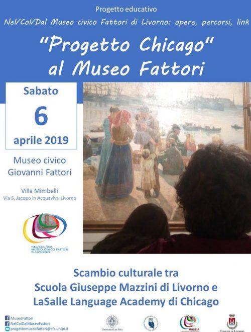 """Progetto """"Chicago"""" al Museo Fattori"""