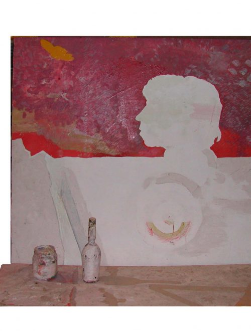 All'antologica su Pier Paolo Calzolari il Quadro per Ginestra, opera delle collezioni civiche livornesi