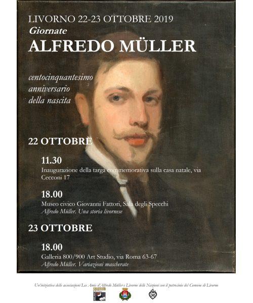 Le giornate di Alfredo Muller. Appuntamento al 22 e il 23 ottobre 2019