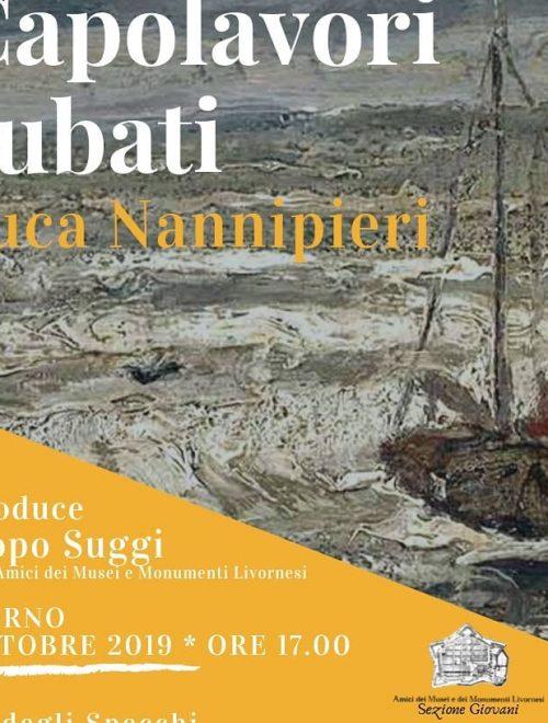 """Presentazione libro """"Capolavori rubati"""" di Luca Nannipieri"""