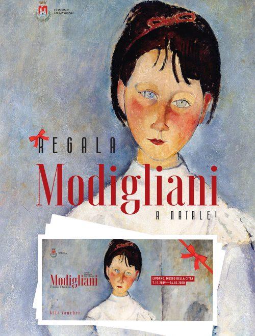 """A Natale regala un biglietto-strenna per la mostra su Modigliani ( magari integrato con il Museo """"Fattori"""")"""