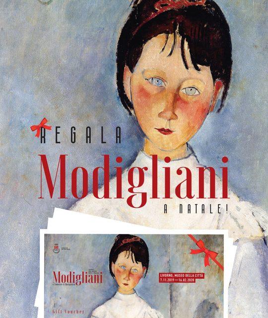 """A Natale regala un biglietto per la mostra su Modigliani (meglio se integrato con il Museo """"Fattori"""")"""