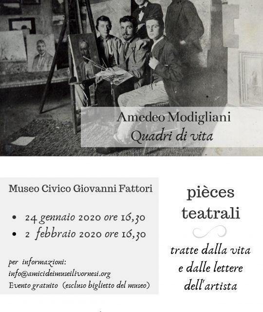 """Prima domenica del mese. Ingresso gratuito al """"Fattori"""" e pieces teatrali su Modigliani"""