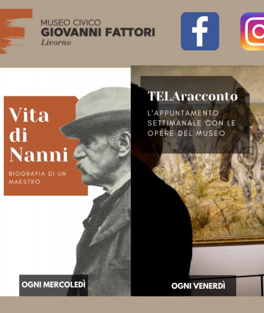 Nuova programmazione social per le pagine del Museo Civico Giovanni Fattori