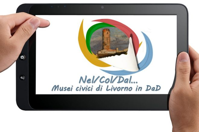 LOGO NelColDal Musei civici LI in DaD
