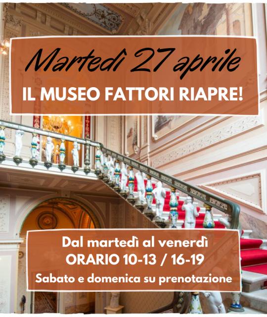 Il Museo Fattori riapre martedì 27 aprile