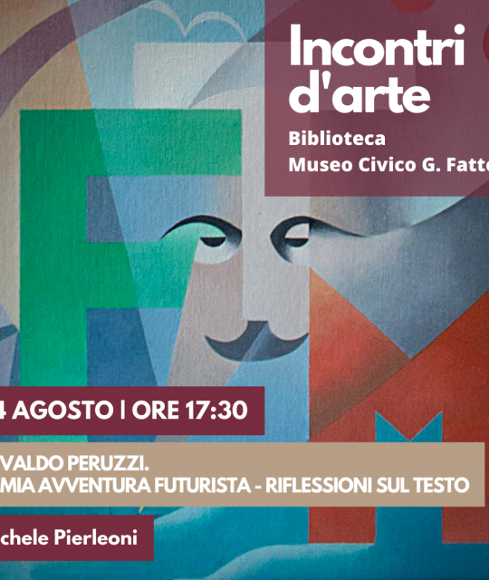 """Osvaldo Peruzzi. La mi avventura futurista"" a Villa Mimbelli"
