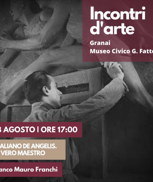 """Vitaliano De Angelis: un vero maestro"" con Franco Mauro Franchi"