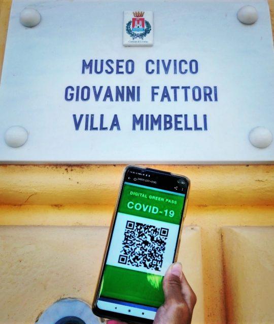 Green pass e nuove modalità d'accesso al museo