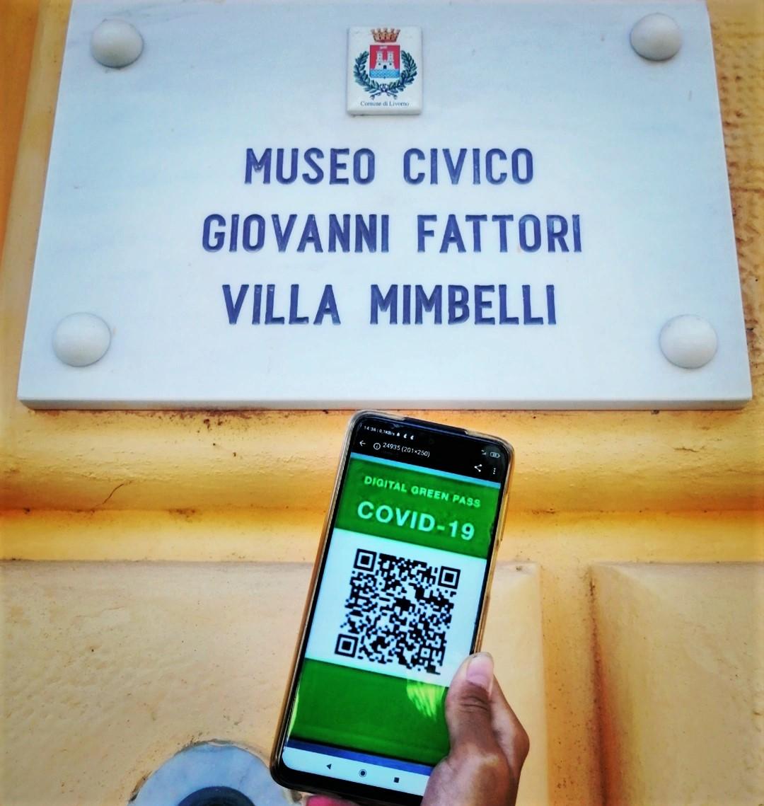 Green pass museo Fattori